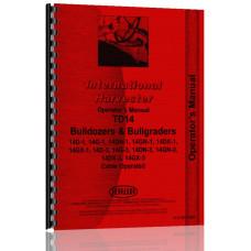 International Harvester TD14 Crawler Operators Manual[IH-O-TD14DZR]