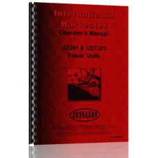 International Harvester UD361 Power Unit Operators Manual