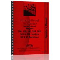 International Harvester 100 Wagner Loaders Operators Manual