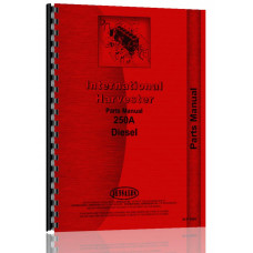 International Harvester 250A Industrial Tractor Parts Manual