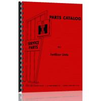 International Harvester Fertilizer Units Parts Manual
