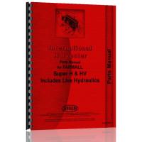 Farmall Super H Tractor Parts Manual