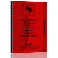 International Harvester TD14 Crawler Bulldozer Attachment Parts Manual