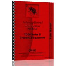 International Harvester TD20B Crawler Parts Manual