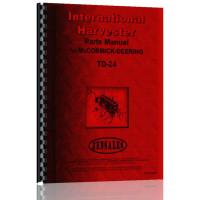 International Harvester TD24 Crawler Parts Manual (TD-24 Tractor)