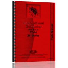 International Harvester TD24 Crawler Parts Manual (241 Ser GearDrive)