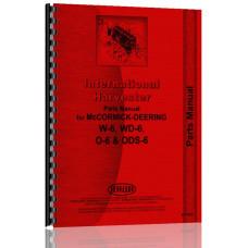 Mccormick Deering ODS6 Tractor Parts Manual