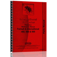 Image of International Harvester 560 Tractor Preventative Maintenance Preventative Maintenance Manual