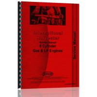 International Harvester 756 Tractor Engine Service Manual (Gas)