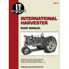 International Harvester F30 Tractor Service Manual (IT Shop)