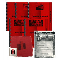 International Harvester 786 Deluxe Tractor Manual Kit