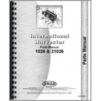 International Harvester 1026 Tractor Parts Manual