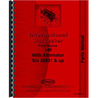 Farmall 140 Tractor Parts Manual (Chassis)