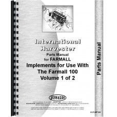 International Harvester 140 Tractor Implement Attachments Parts Manual