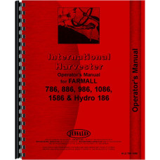 International Harvester 186 Hydro Tractor Operators Manual (1976-1981)