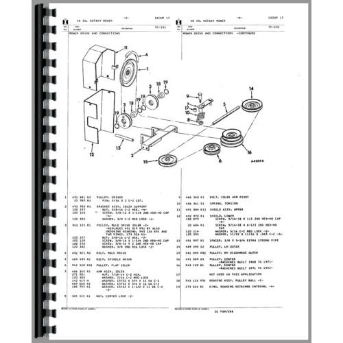 Cub Lo Boy 154 Parts Diagram