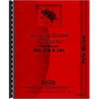International Harvester 230 Tractor Parts Manual