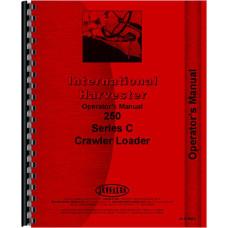International Harvester 250C Crawler Operators Manual
