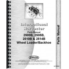 International Harvester 2510B Industrial Tractor Parts Manual