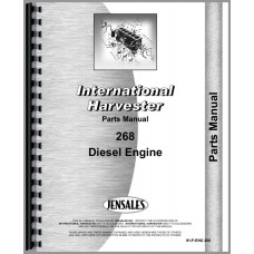 International Harvester 270A Industrial Tractor Engine Parts Manual