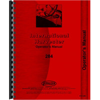 International Harvester 284 Tractor Operators Manual