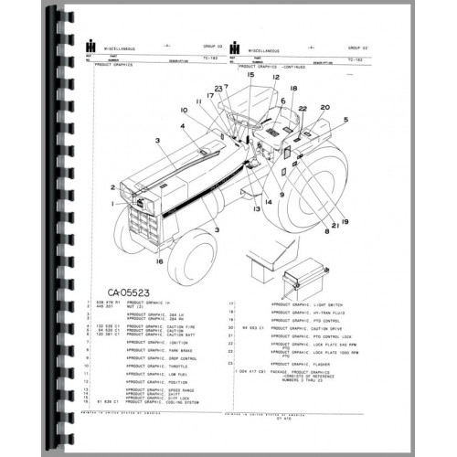 InternationalHarvester 284 Tractor Manual_90347_3 500x500 jinma 284 le wiring diagram colored wiring wiring diagram schematic International 284 Wiring-Diagram at nearapp.co
