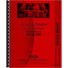 International Harvester 284 Tractor Service Manual