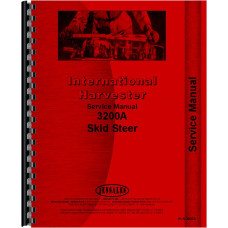 International Harvester 3200A Skid Steer Service Manual (Chassis)