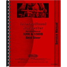 International Harvester 3300B Skid Steer Service Manual (Chassis)