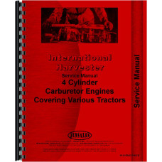 International Harvester 161 Windrower Engine Service Manual (Engine)
