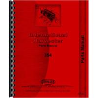 International Harvester 354 Tractor Parts Manual