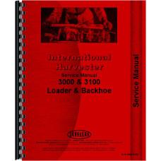 International Harvester 3142 Backhoe Attachment Service Manual