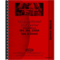 International Harvester 354 Tractor Service Manual