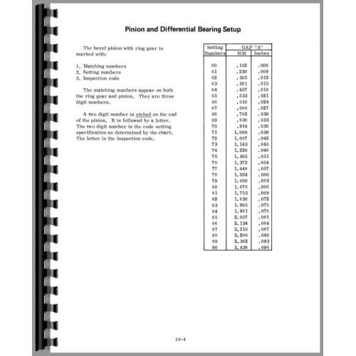 international harvester service manual pdf