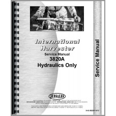 International Harvester 3820A Industrial Tractor Hydraulics Service Manual