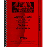 International Harvester 384 Tractor Service Manual (Chassis)