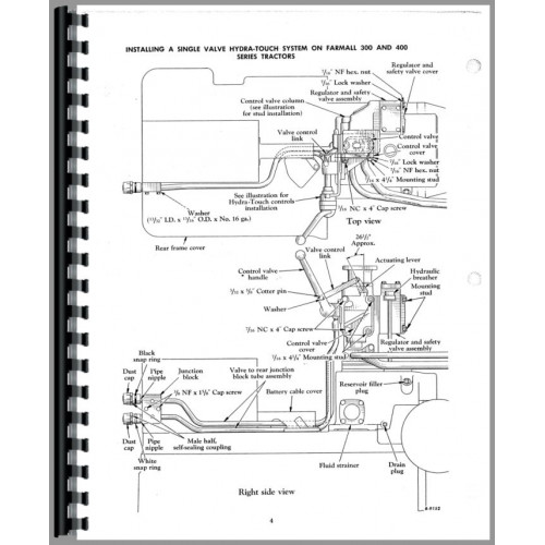 farmall 400 parts diagram all wiring diagram Arctic Cat Wiring Schematic