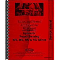 International Harvester 300 Tractor Behlen Power Steering Service Manual