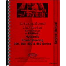 International Harvester 450 Tractor Behlen Power Steering Service Manual