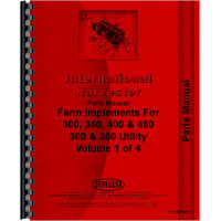 International Harvester 300 Tractor Implements Parts Manual