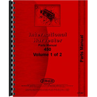 International Harvester 450 Tractor Parts Manual