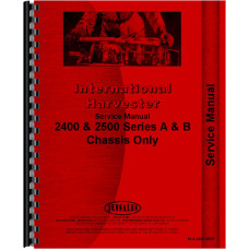 International Harvester 2400 Industrial Tractor Service Manual (Chassis)