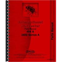 International Harvester 454 Tractor Parts Manual
