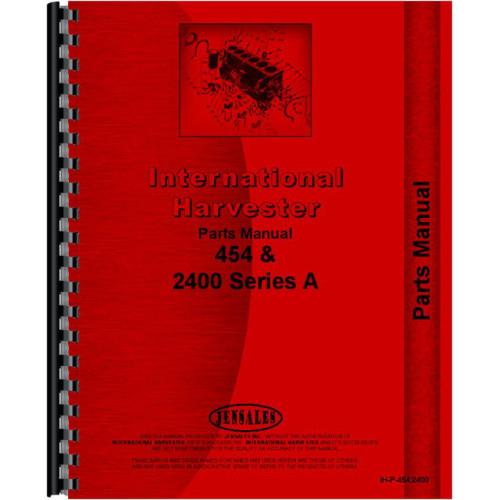 international harvester 454 tractor parts manual rh jensales com 454 Big Block Diagram 454 Engine Distributor