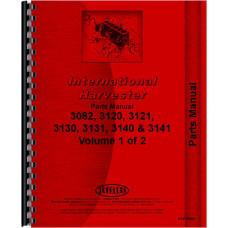 International Harvester 3140 Backhoe Attachment Parts Manual