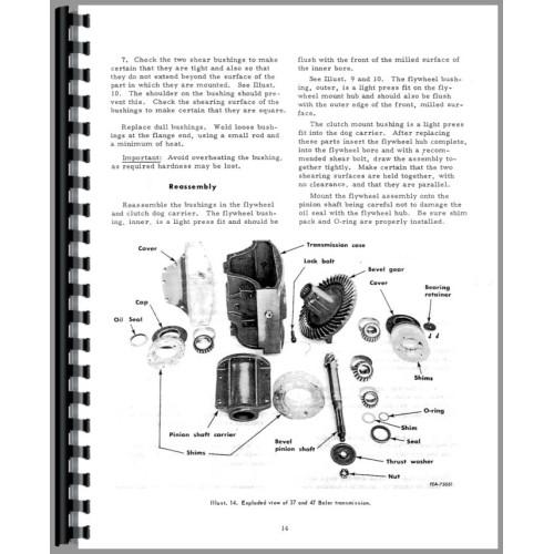 International Harvester 47T Baler Service Manual
