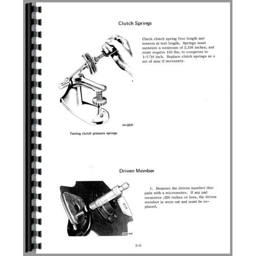 International Harvester 500C Crawler Service Manual (Chassis)