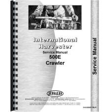 International Harvester 500E Crawler Service Manual (Chassis)