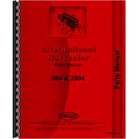 International Harvester 504 Tractor Parts Manual