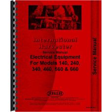 Farmall 140 Tractor Electrical Service Manual (Electrical)